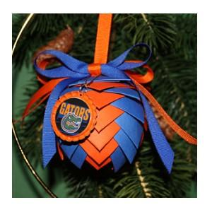 University of Florida Gators Pine Cone Ornament