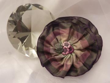 RIbbon Flower Spiral - Ready to Ship