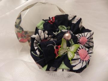 Fabric Flower - Ready to Ship