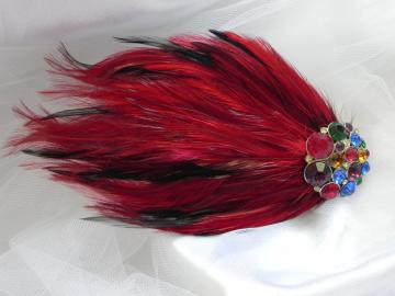 Feather Fascinator - Ready to Ship
