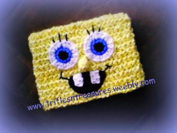 Spongebob's Square Hat Crochet Pattern (Z)