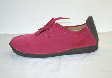 Vintage Lei  Hot pink COMFORT  Suede Shoes - 8.5