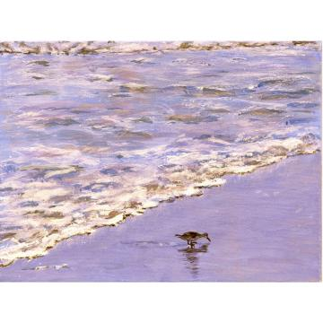Sandpiper One (An Original Beach Scene)