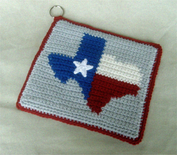 Texas Crocheted HotPad