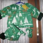 Coat set girls or boys 3pc deer themed