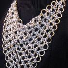 Royal West Chainmail Kerchief Necklace