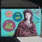 Upcycled Purse, Turquoise, Vinnie Ream