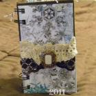 Mini Scrapbook Album - Winter