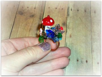 David the Gnome - Ring - Character Collection - Anime Series - OOAK - ANY SIZE