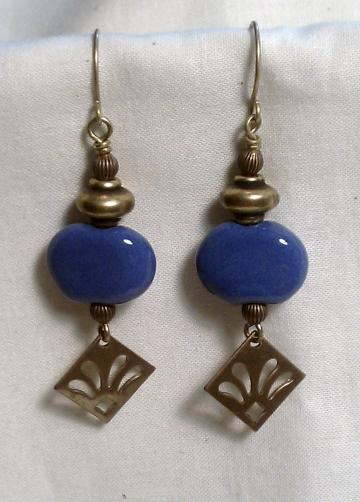 Kazuri Earrings, Item #851