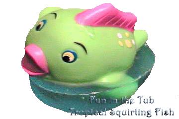 Squirting Tropical Fish Kid Soap- BATH TIME