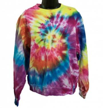 Tie Dye Sweatshirt - medium - Bright Swirl 2