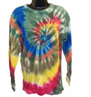 Tie Dye Thermal - Medium - Wave Curl Swirl