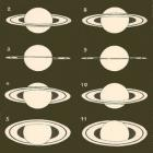 Venus, Mars, the Planets, and the Rings of Saturn 1892 Victorian Astronomy Engraving