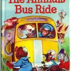 The Animals Bus Ride Vintage 1965 Rand McNally Book 8118