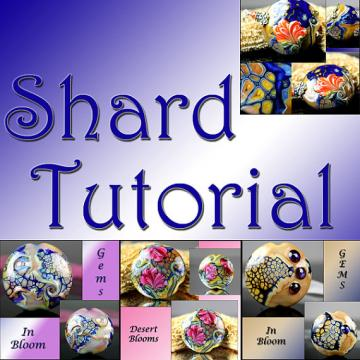 Tutorial The Secrets Revealed Magic Mosaic Lampwork Shards GemsInBloom