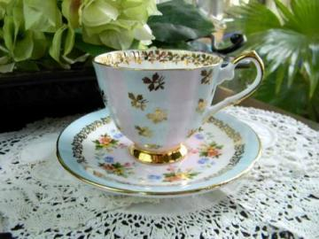 Royal Talbot Exquisite Tea Cup Teacup and Saucer - Damaged 5534