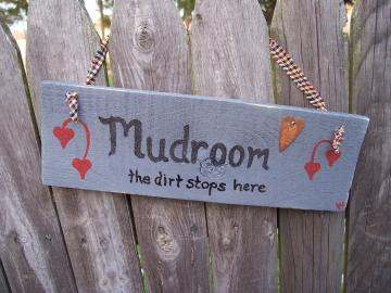 Mudroom Sign