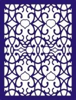 CLD Cutting Die: Arabian Night Rectangle Frame