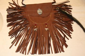 Large Native American Horse Medicine BagFrom DiamondMDesigns