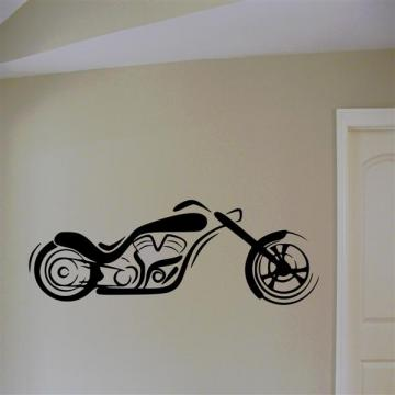 Custom Chopper Vinyl Wall Art