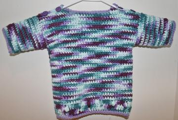 Cotton Crochet Toddler Shirt Top