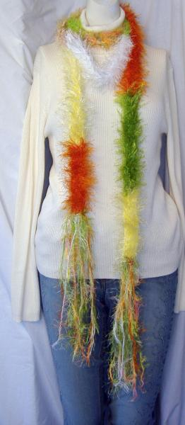 NEON Colors in this EXTRA LONG scarf