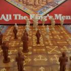 1979 All the Kings Men Board Game by Milton Bradley Strategy Game