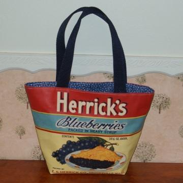 Herricks Blueberries Artist Canvas Bag