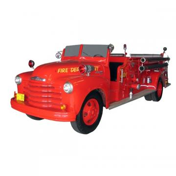 Large Fire Engine Vinyl Wall Decal