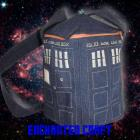 Dr Who? TaRDis bag with zipper and 2 pockets