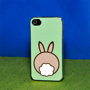 iPhone Case - Bunny Butt - iPhone 4 Hard Case