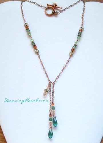 "Necklace ""Copper Penny"""