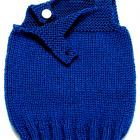 Hand Knitted Baby Tank Top Sweater -  Small