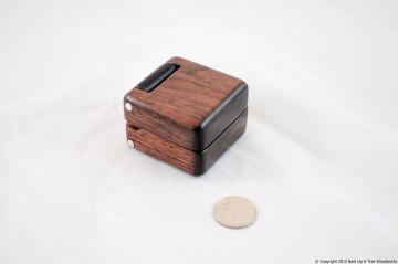 Black Walnut &	Wenge - Ring Box