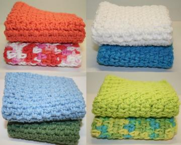 Crochet Wash or Dish Cloth