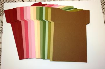 short front library pockets for your scrapbooks and mini albums PE3