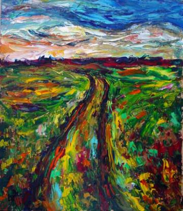 Path by I Like Oil Painting (Mike)