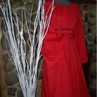 New Renaissance Red Fantasy Medieval Gown Dress Costume Sizes Available