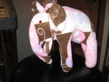 Elephant (Boutique style) girls nursery