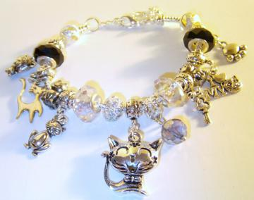 Ultimate Cat Lover Charm Bracelet