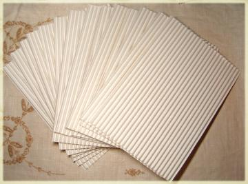 White Corrugated Cardboard - 15 Sheets