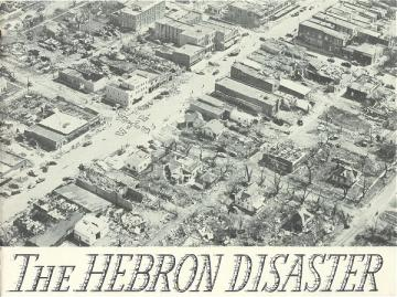 Hebron Nebraska Tornado Disaster 1953 Book History