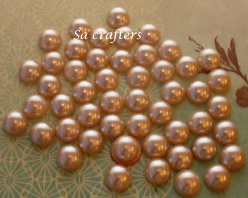 #22- half pearl 16mm-50 pieces