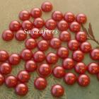 #26- half pearl 16mm-50 pieces