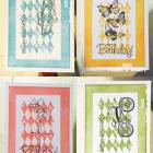 Set of 4 Birthday Cards (1)
