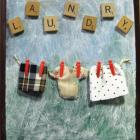 Laundry Room Plaque With Hanging Clothes Made With Recycled Materials