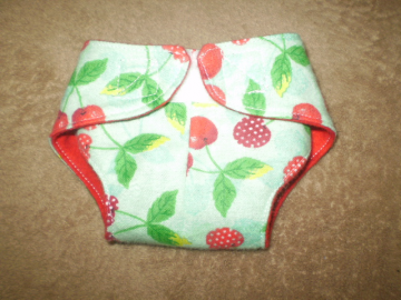 """doll"" diapers set of 3"