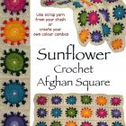 Crochet Rug (Afghan) pattern PDF - Sunflower