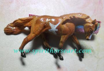 Pinto Pony Hair clip, Fascinator